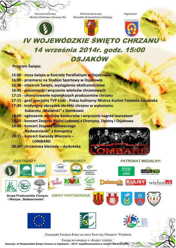 2014 08 22.swieto.chrzanu - IV Wojewódzkie Święto Chrzanu