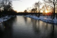 Rzeka Warta zimą_1
