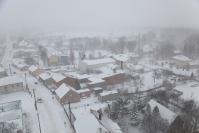 Osjaków z wieży kościelnej zimą-13