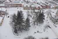 Osjaków z wieży kościelnej zimą-18