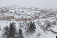 Osjaków z wieży kościelnej zimą-20