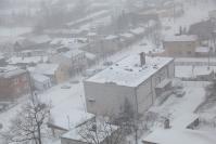 Osjaków z wieży kościelnej zimą-9